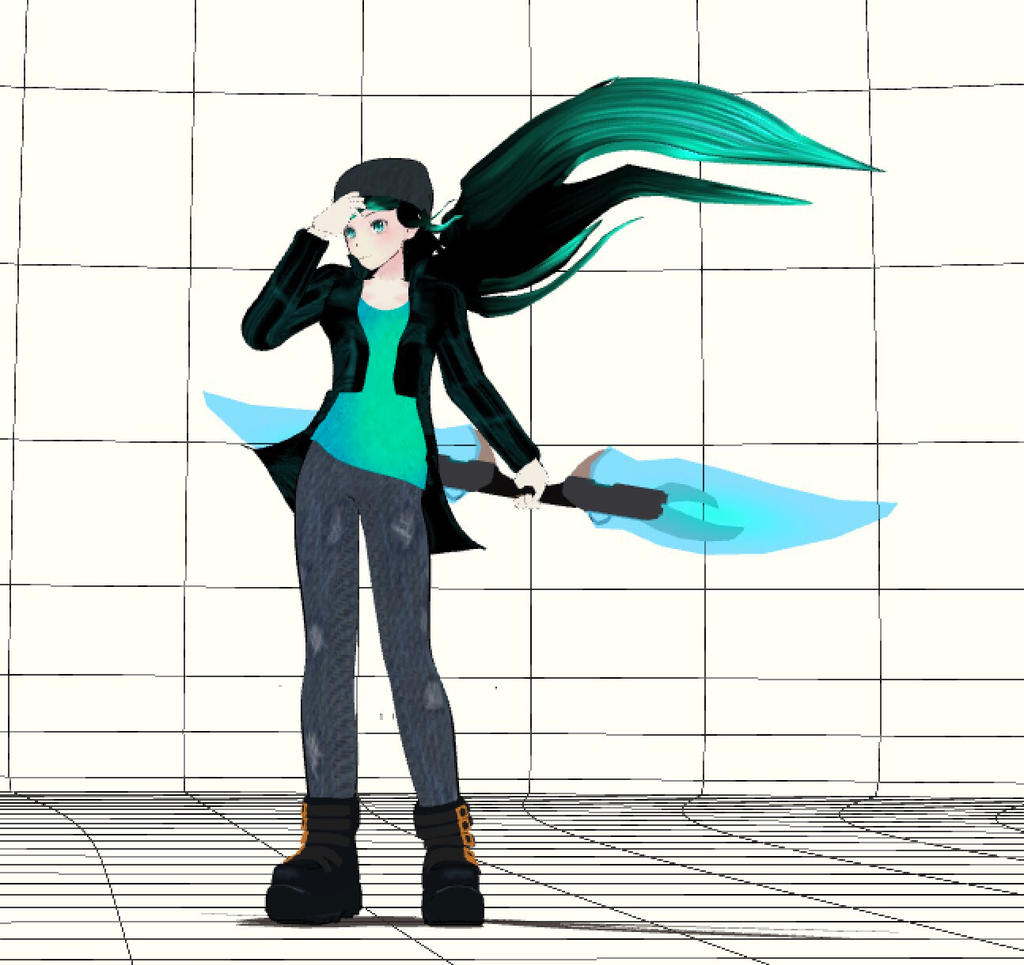 OC: Jade Quaze (Final Version Hopefully) by BrandonK10