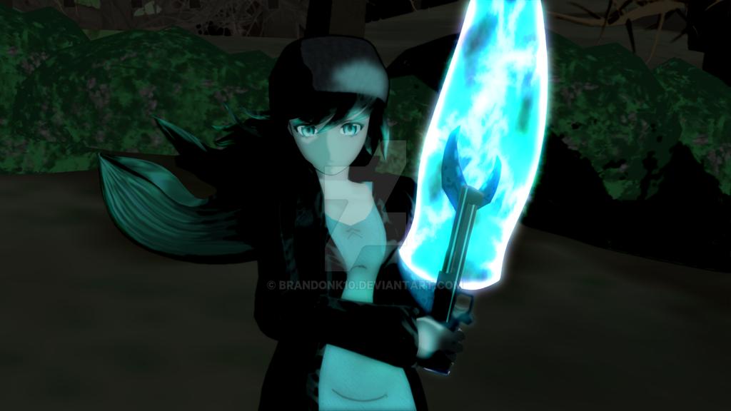 Jade Blade Test (Animation in Description) by BrandonK10