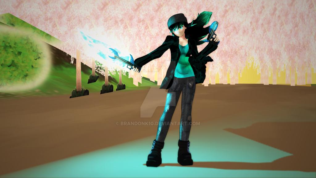 Jade Weapon Test by BrandonK10