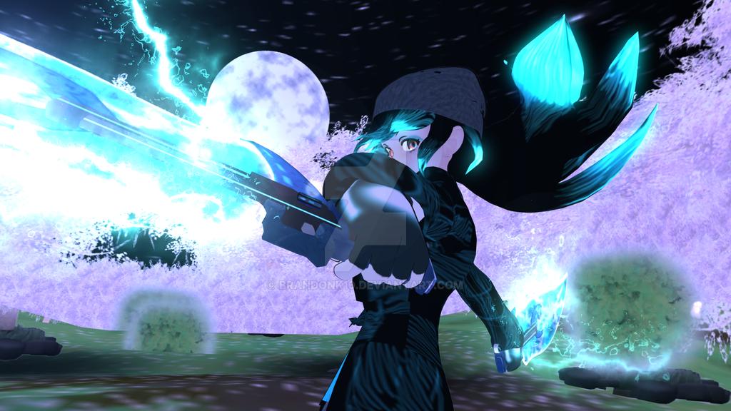 Jade Sword Animation (Link in Description) by BrandonK10