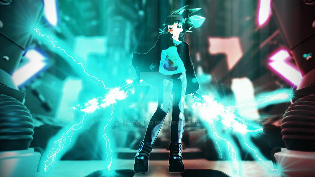 Jade Thor Image by BrandonK10
