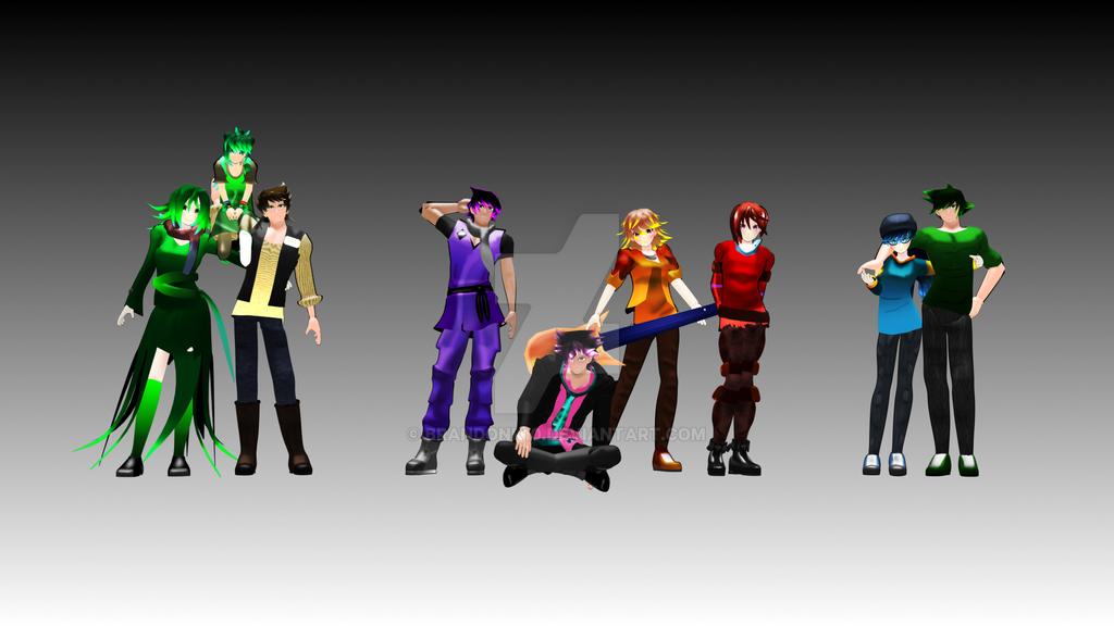 Side Characters Bday, Jade Art, and Jade Ult(Stash by BrandonK10