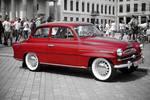 Red Old Skoda by erra
