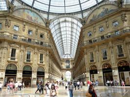 Mall Milan by WALKING-GIRL