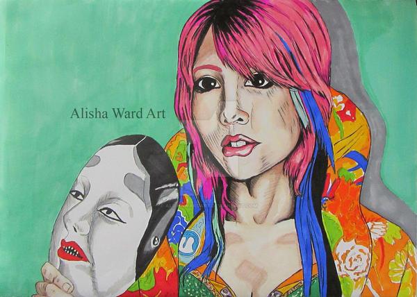 Asuka by AlishaWardArt