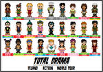 Total Drama Cast Up To Date
