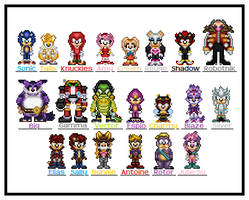 Sonic Group Sprites 2011 by SWSU-Master