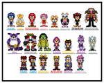 Sonic Group Sprites 2011