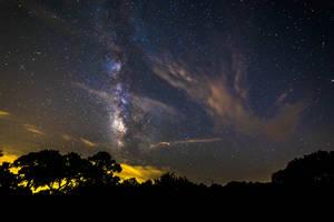 Milky Way - Izoro, Texas by JMcColgan