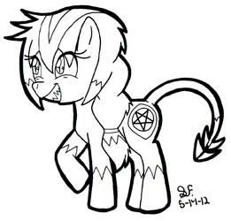 .:Chalice as a Pony:.