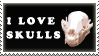 Skulls Stamp by Shadyufo