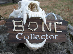 Bone Collector Painted Sign SOLD