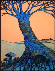 The fantasy tree by PENANDINKDRAWINGS