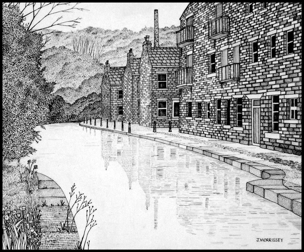 West Yorkshire Scene by PENANDINKDRAWINGS