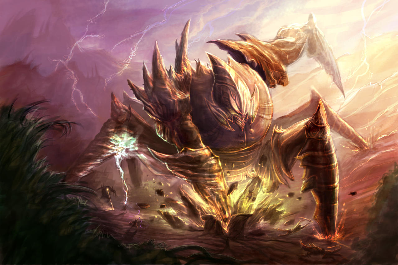 Behold the EarthShaker by DreadJim