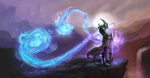 Master Yi Meditating with Twin Shadows