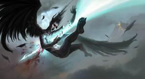 Fall of the Devil by DreadJim