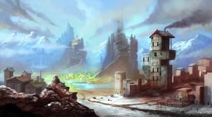 Fantasy world by DreadJim