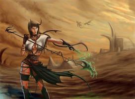 Satyr Saviour by DreadJim