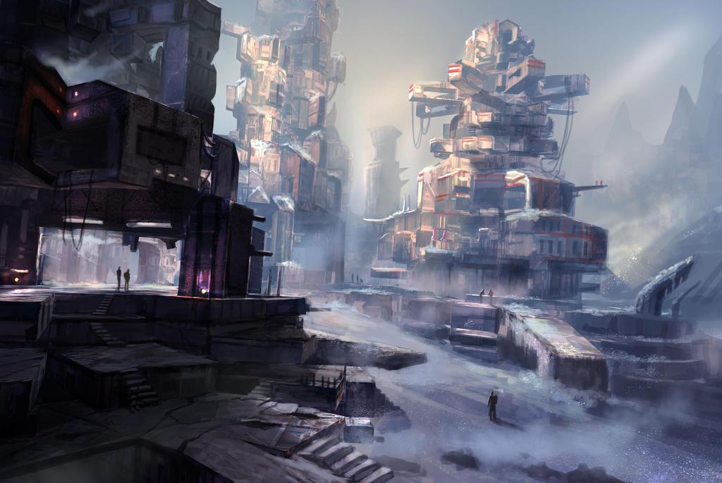The Frost City of Fereza by DreadJim