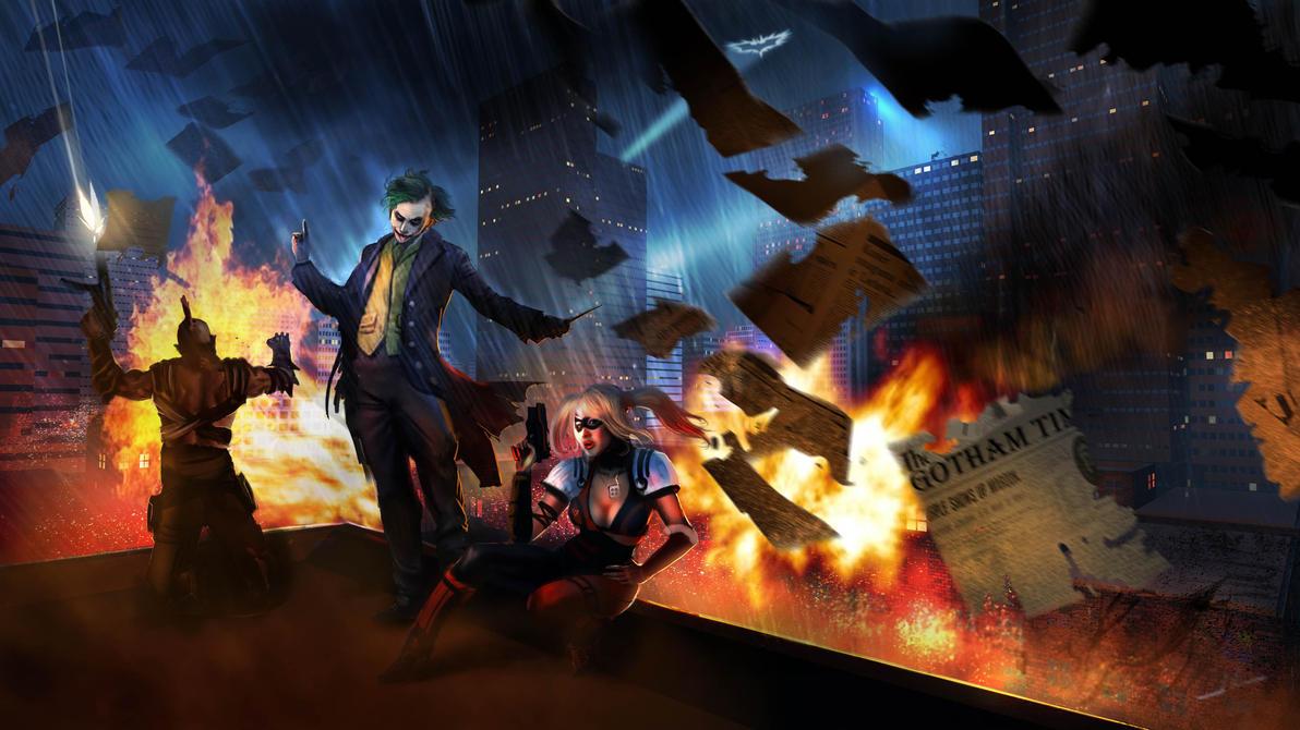 The Joker's Revenge by DreadJim