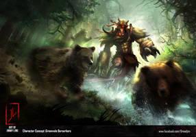 Berserkers by DreadJim