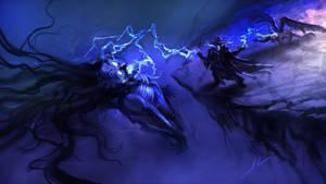 Gothic Psychic Vampire Hunter by DreadJim