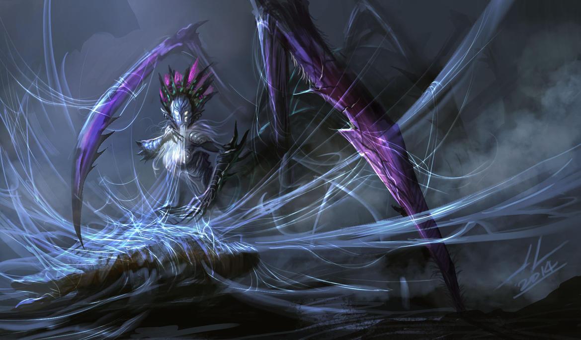 Spider Queen by DreadJim