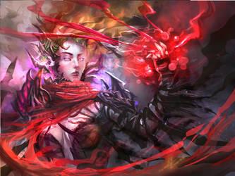 Vampire Goddess by DreadJim