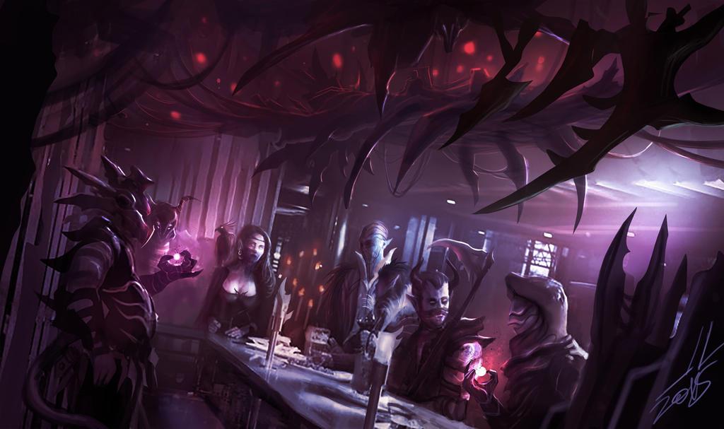 The Underworld Round Table by DreadJim