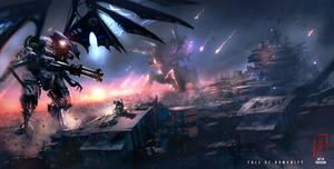 Fall of Humanity by DreadJim
