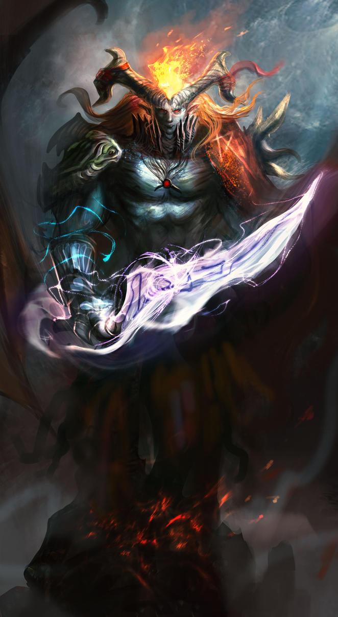 Boss Demon Warrior by DreadJim on DeviantArt