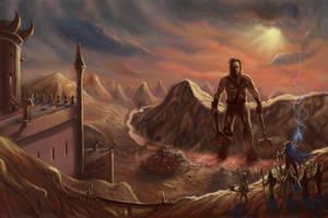 The Last Giant Zalbalkien by DreadJim