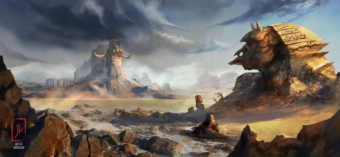 GodSlayers: Gyptia Land of the Forgotten Titans