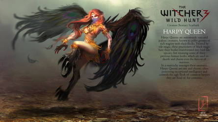 Witcher 3 Mock Creature Design Concept