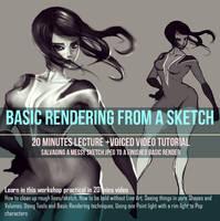 Basic Rendering Free Video tutorial by DreadJim