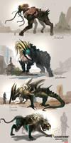 Creature Design by DreadJim