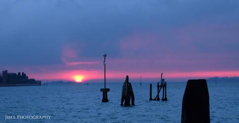 Sunset from Venezia