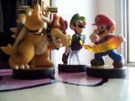 Bowser, Luigi, Mario Amiibos