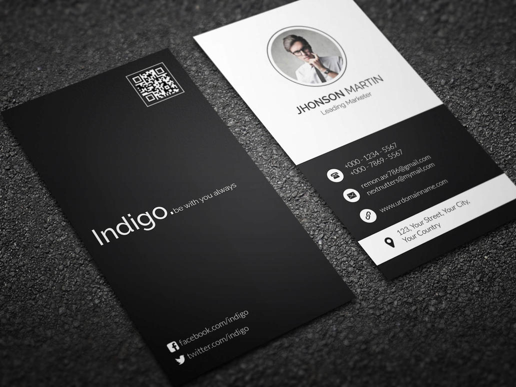 Minimal vertical business card by remon92 on deviantart minimal vertical business card by remon92 magicingreecefo Gallery