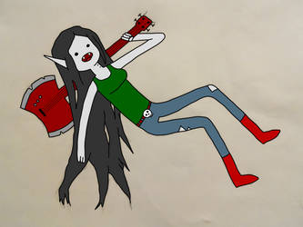 Marceline, Queen of the Danged by AskKarateOrc