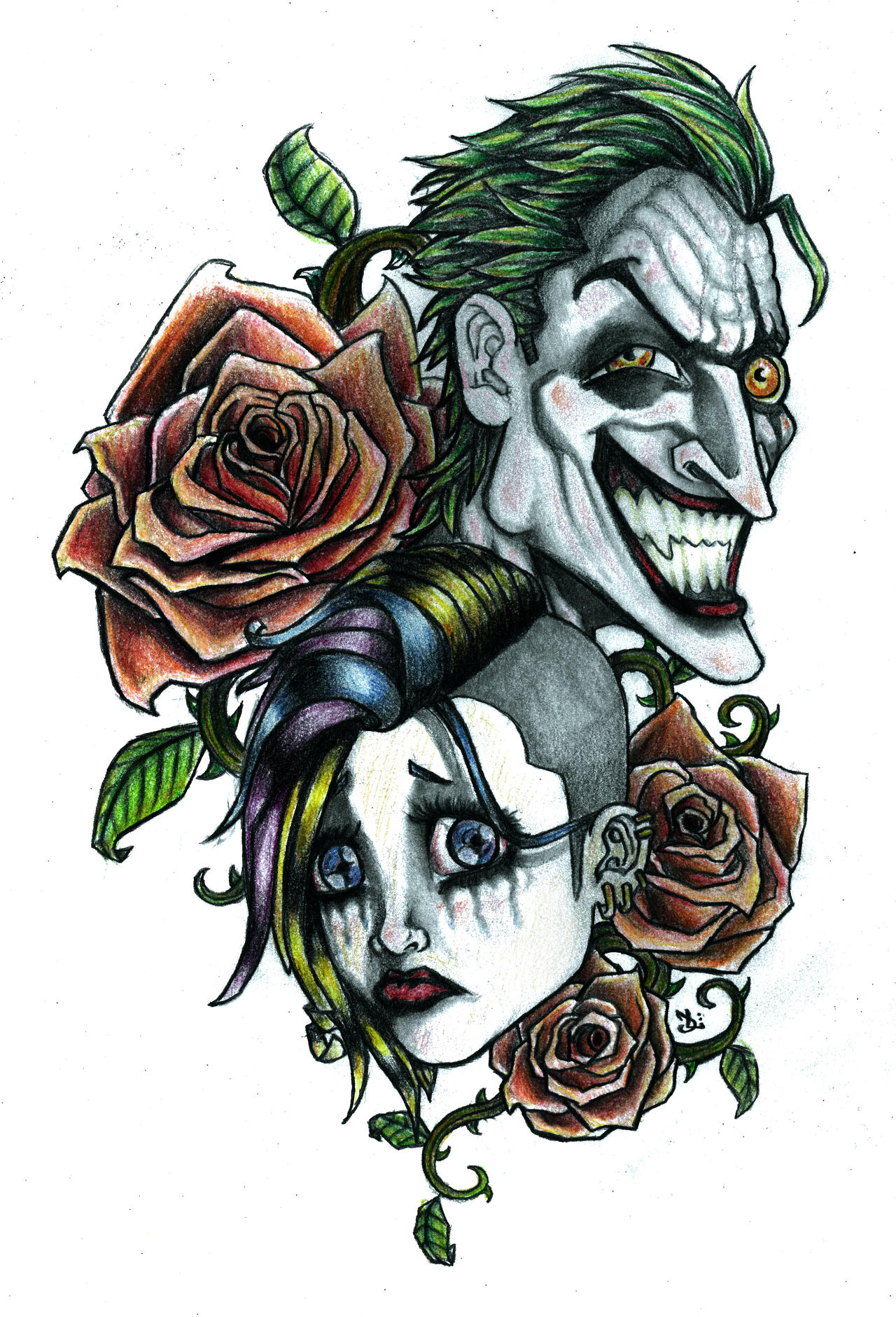 'Laugh Now Cry Later' by Bald-Imaginations on DeviantArt