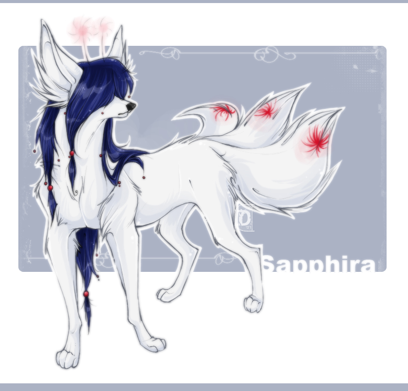 : Sapphira : commission : by flosh