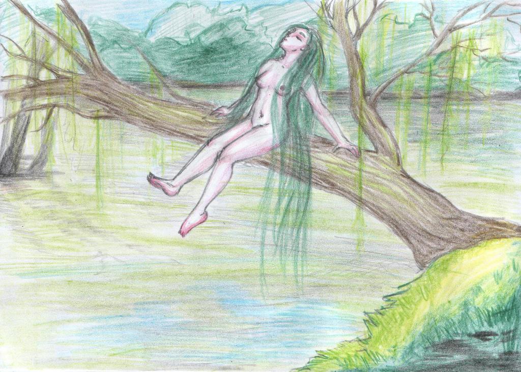 Slavic Mermaid by nikkeae