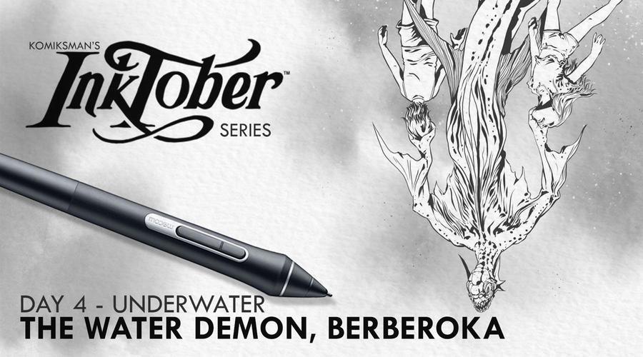 WATCH MY BERBEROKA, THE WATER DEMON DRAWING VIDEO by jrldorado