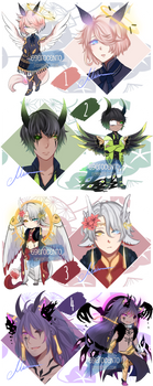 [Auction | CLOSED] Winged Children