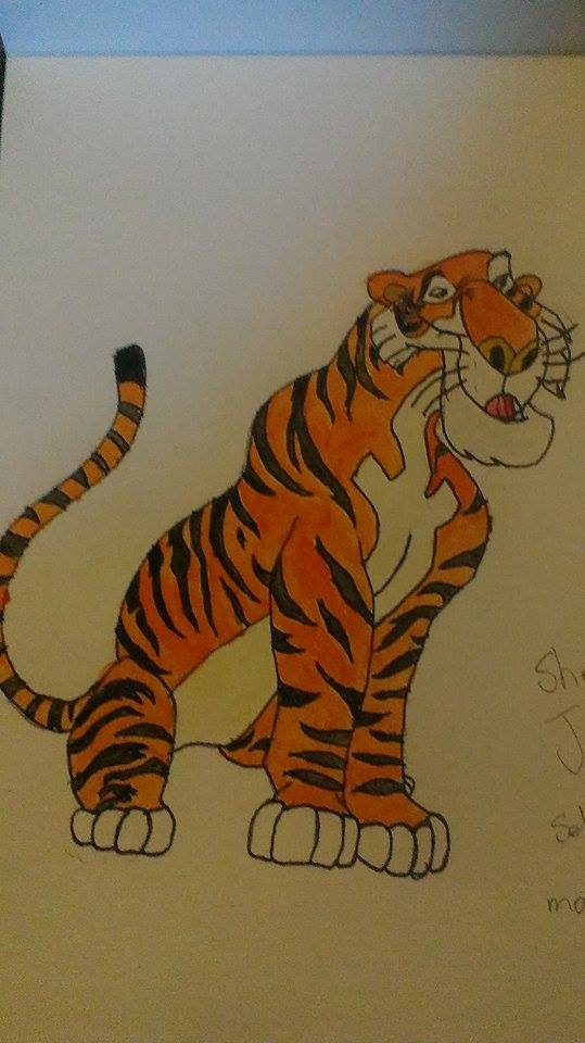 Shere Khan by darkwitch123