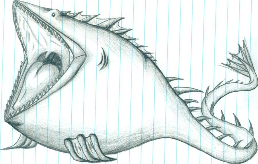 Charybdis drawing