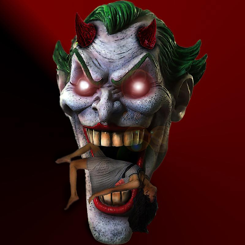 Joker Demon III by goodben
