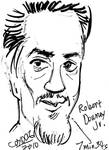 Caricature - Robert Downey Jr. by amberchrome